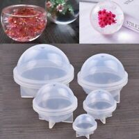 Transparent Ball Resin Mold Silicone Epoxy Mould DIY Pendant Jewelry Making Tool