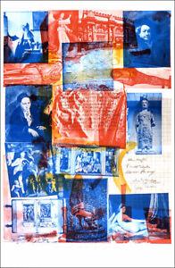 Robert RAUSCHENBERG Centennial Certificate 1970 Offset Lithograph 39 x 25-1/2