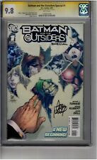 (B3) Batman and the Outsiders Special #1 CGC 9.8 Signature Series *Adam Kubert*
