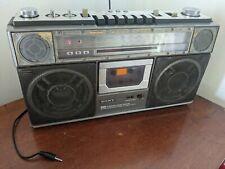 Sony CFS-71L Boom Box Stereo Cassette Player Line Input