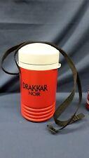 1945M Vtg 1997 DRAKKAR NOIR Igloo 1 Quart Thermo Drink Cooler w/Strap UNUSED