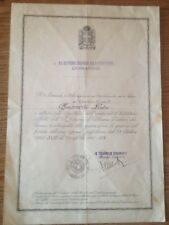 Diploma fronte greco albanese per GAF guardia alla frontiera