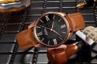 Men Top Brand Fashion Luxury Quartz Wrist Watch Floral Business Watches Y376
