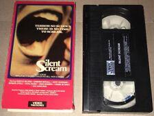Silent Scream VHS Video Tape Rebecca Balding Denny Harris RARE OOP Horror Movie