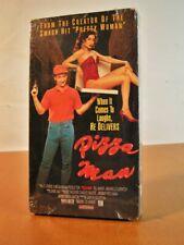 """Pizza Man"" Comedy Noir Bill Maher Elmo vs Donald Trump! VHS 1991 NOS Free Ship"