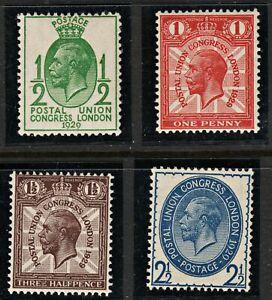 2006 SG434/7 Postal Union Congress 1929 Set of 4. MNH Mint. Fresh. c£35