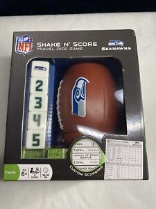 Official NFL Shake n Score Choose Your Team#081 Seattle Seahawks