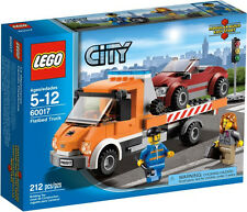 2013 RETIRED LEGO CITY 60017 FLATBED TRUCK, NEW & SEALED, ON HAND, GREAT GIFT!!