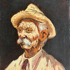 Ritratto Dipinto Olio cm. 25 x 35 Franco Puliti Livorno