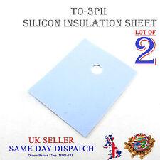TO-3PL conduzione termica isolante Pad Silicone a transistor Large TO-3P #A61