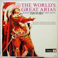 "12"" 33 RPM MONO LP - DIPLOMAT D-2257 - ENZO STUARTI - THE WORLD'S GREATEST ARIAS"