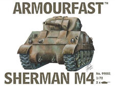 Armourfast 99001 1/72 WWII USA Sherman M4 Tank (2 Models)