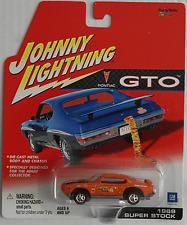 Johnny Lightning -'69/1969 pontiac GTO super stock Orange Nouveau/OVP