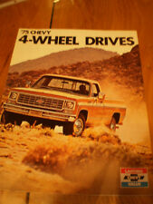 1975 CHEVY 4-WHEEL DRIVES
