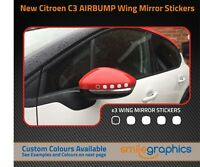 Citroen C3 Airbump Wing Mirror Stickers decals - Other colours available