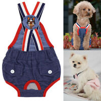 Dog Sanitary Panties Puppy Cat Diaper Pet Underwear Short Pants Female Washable