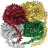 7.5M(24.6FT) Tinsel Christmas Tree Decorations X'mas Garland Choose 5 Colour Hot