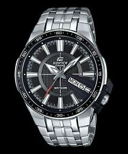 Casio Men's 50mm Edifice Analogue Watch - Black/silver