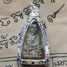 Phra Luang Phor Thuad,Twad ,Wat Chang Hai , 2497 Buddha in beautiful Silver case