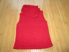 Pull Rouge,sans manche,Taille 6,marque Tape à l'oeil,en TBE