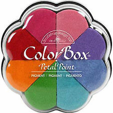 Clearsnap Ink ColorBox Pigment Petal Point Option Pad 8 Colors-fun