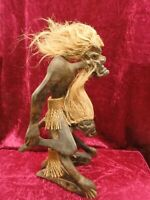 Carved Wooden tribal figure.