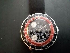 Vintage Lucerne gents wristwatch, sport Chronograph quite rare excellent condi.