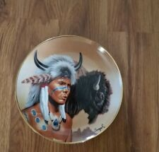 Franklin Mint Heirloom Collection Spirit of the Buffalo by Gary Ampel