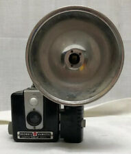 Brownie Hawkeye Camera Hash Model With Flash - Vintage 1950s -  Untested