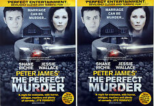 2 X THE PERFECT MURDER FLYERS - SHANE RICHIE JESSIE WALLACE ( EASTENDERS )