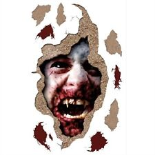 HALLOWEEN BLOODY VAMPIRE wall stickers 9 decals scary spooky teeth blood