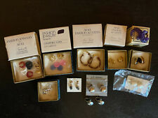 Collection of Vintage AVON Clip On Earrings Brand New in Boxes 11 Pair Lot