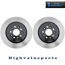 2 Disc Brake Rotors BR54125 Rear for Ford Five Hundred Freestyle 2005 2006 2007