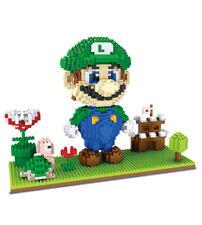 Super Mario Brothers Micro Mini Nanoblock Building Blocks ZMS kids child toys