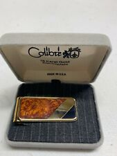 Vintage Colibri Money Clip - 18K. Gold Electroplate with ORIGINAL BOX