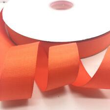 """5 yards 1""""(25mm) Width Grosgrain Ribbon Wedding Hair Bow DIY Sewing Crafts #14"""