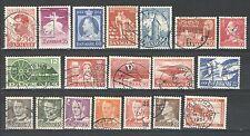 R519 - DANIMARCA  1948 - LOTTO USATI DIFFERENTI N°320/400 - VEDI FOTO
