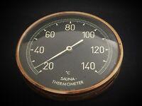 ancien thermomètre pour sauna T° de 20° à 140° - Made in GDR (Germany ouest)