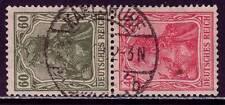 DEUTSCHES REICH Mi. #S25 used stamp pair! CV $56.50