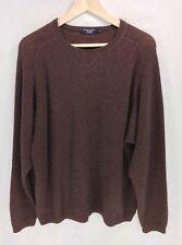 Johnnie Walker Men's Crew-Neck 55% Alpaca Sweater Size Large Peru