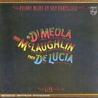 PACO/DI MEOLA,AL/MCLAUGHLIN,JOHN DE LUCIA - FRIDAY NIGHT IN SAN FRANCISCO CD NEU