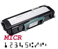 MICR Check (15k) Toner Cartridge for Lexmark E260 E360 E460, X463 X464 X466