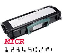 MICR Check Toner Cartridge for Dell 2330dn 2350dn Lexmark E260 E360 E460 (15k)