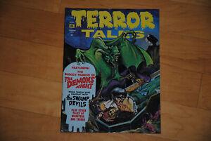 Terror  Tales Vol. 4 #1 January  1972  Eerie Publications Horror Comic Mag