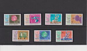 Maldives 100th Ann. World Metereological Organization Set & S/S's MNH Sc 464-471