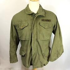 ViNtAgE M65 Combat Worn Vietnam Military US Army Parka CoAt JaCkEt Distressed M