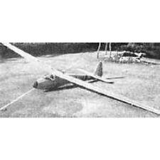 Bauplan Scheibe L-Spatz Modellbau Modellbauplan Segelflugzeug