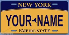 NEW YORK VANITY LICENSE PLATE, PERSONALIZED,  Made in USA