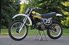 Bob Hannah's 1976 Yamaha OW27 works bike Photo CD vintage motocross ahrma yz