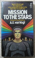 """Mission To The Stars by A.E. van Vogt PB 1st Pocket 81451 """"The Mixed Men"""""""